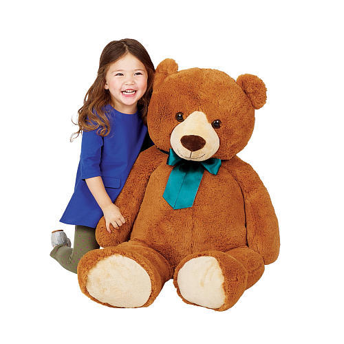 Toys R Us Animal Alley 42 inch Bear Plush with Ribbon
