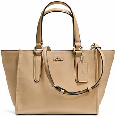 COACH Crosby Mini Carryall in Smooth Leather Handbag Cyber Monday Sale @ Bloomingdales