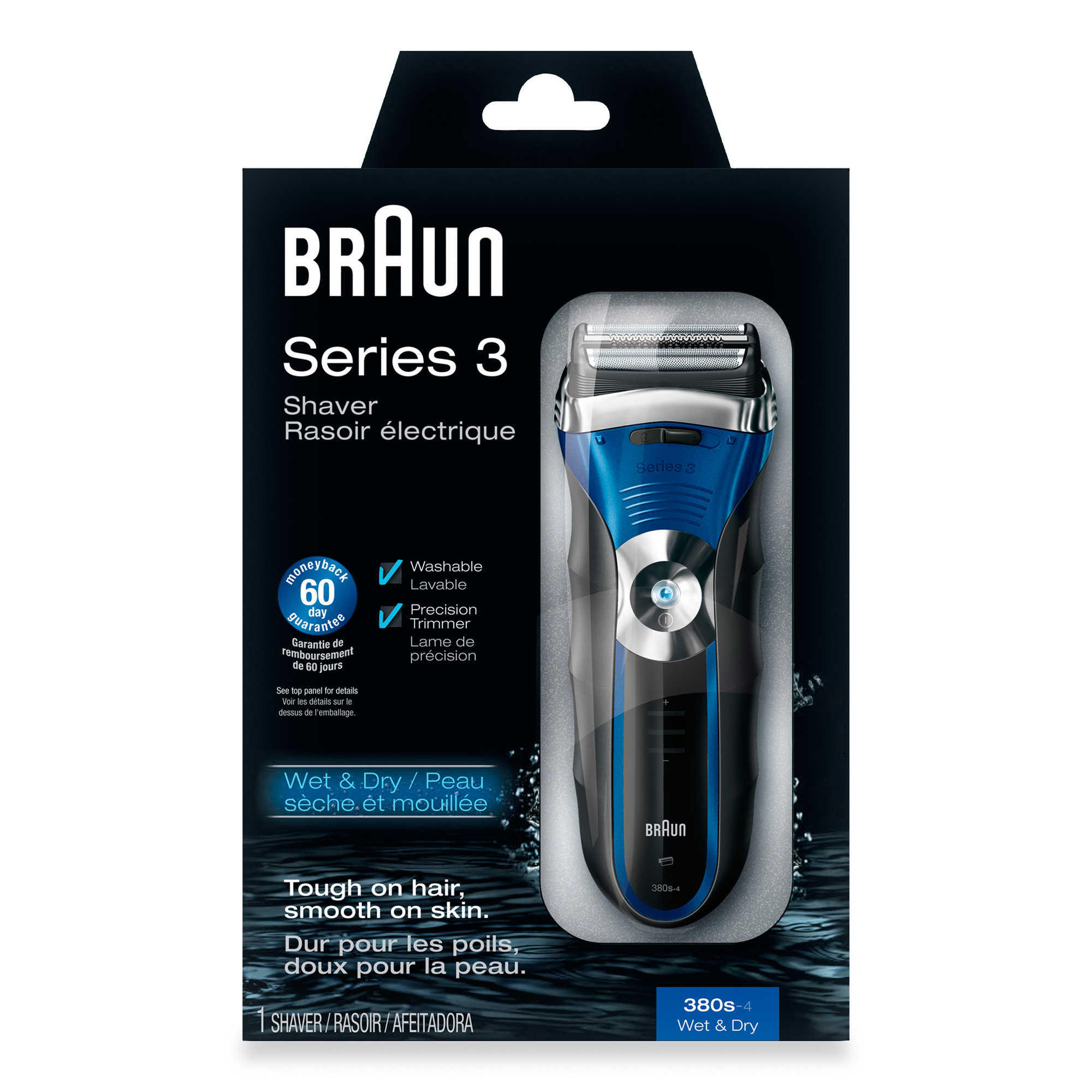 Braun Series 3 380s-4 Solo Men's Shaver