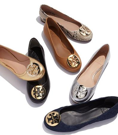 Tory Burch Ballet Flats - New Reva @ Bloomingdales