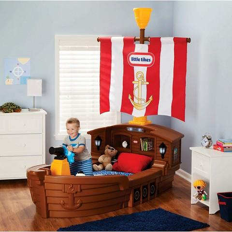 $254.99 Little Tikes Pirate Ship Toddler Bed