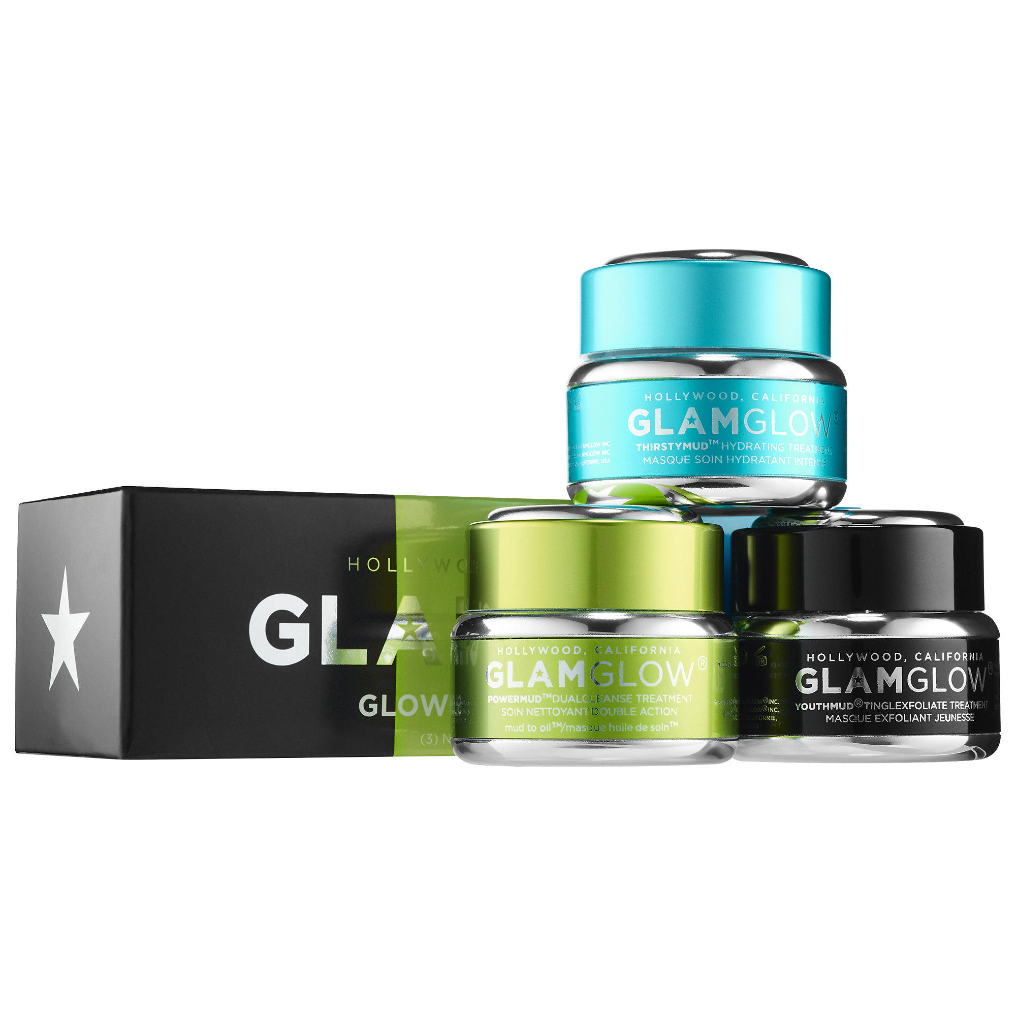 New Release GlamGlow launched New Glow on the Go Trio