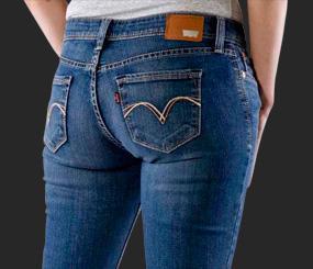 Extra 30% Off Women's Jeans Clearance @ Levis