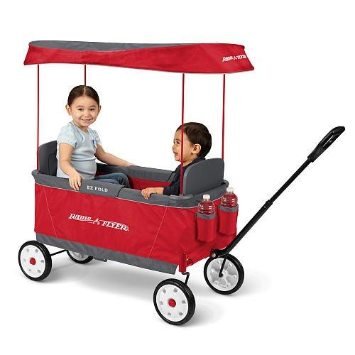 Radio Flyer Kid's Ultimate EZ The Best Folding Wagon Ride On
