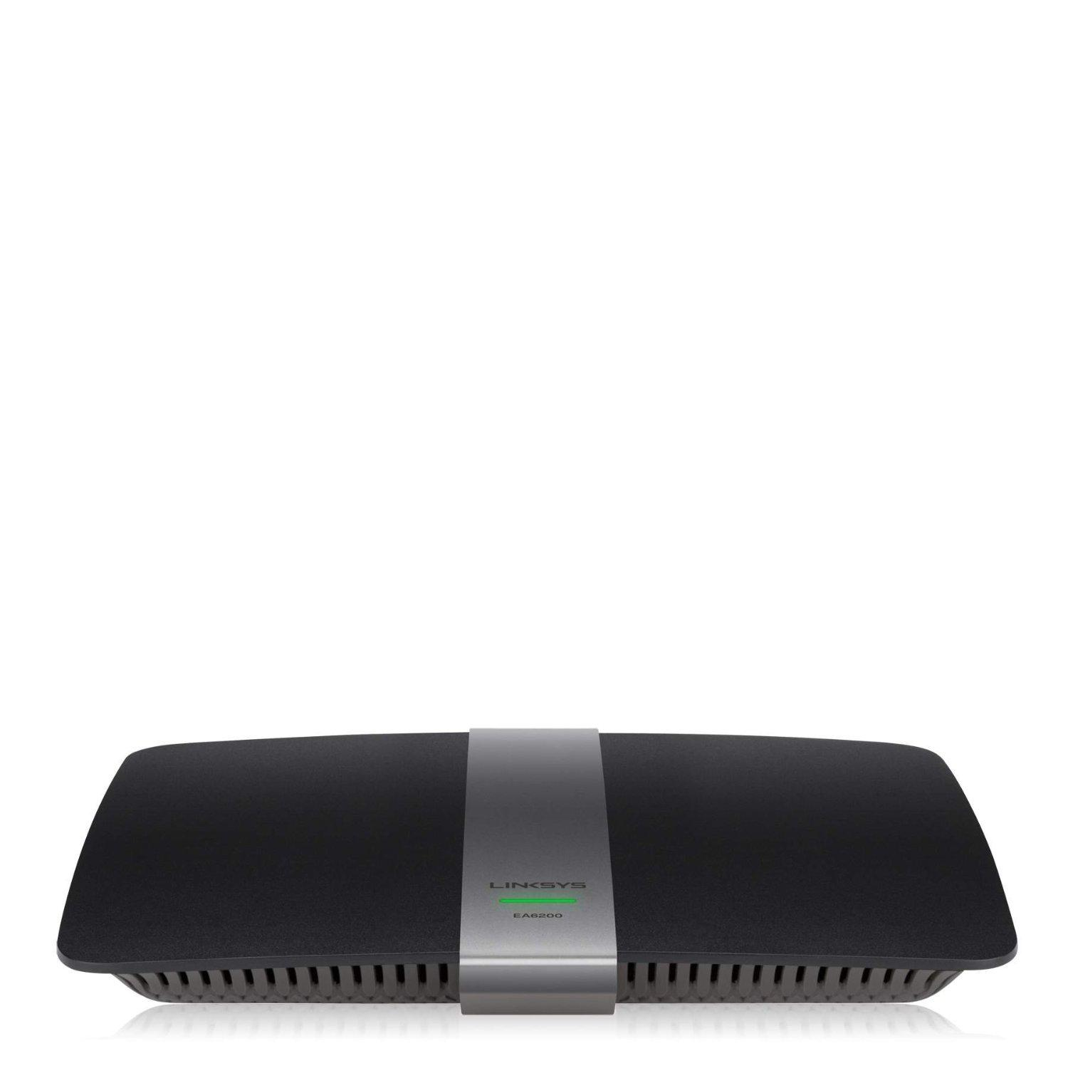 Linksys EA6200-CA Dual Band AC900 Smart Wi-Fi Router IEEE 802.11ac