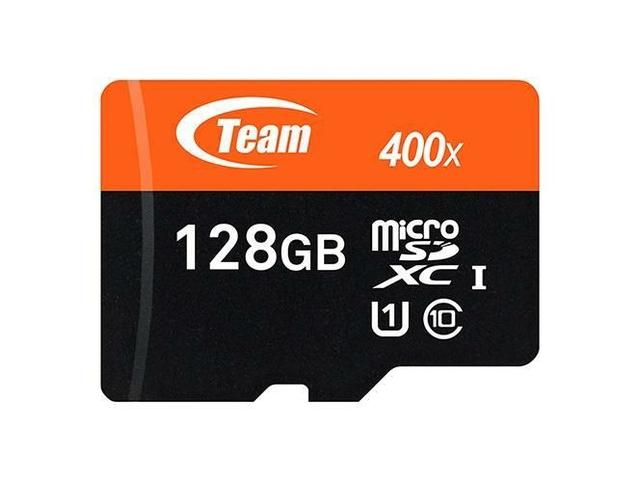 Team 128GB microSDXC Memory Card Model TUSDX128GUHS03