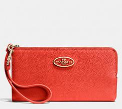 Up to 40% Off Coach Wallets & Wristlet @ Coach