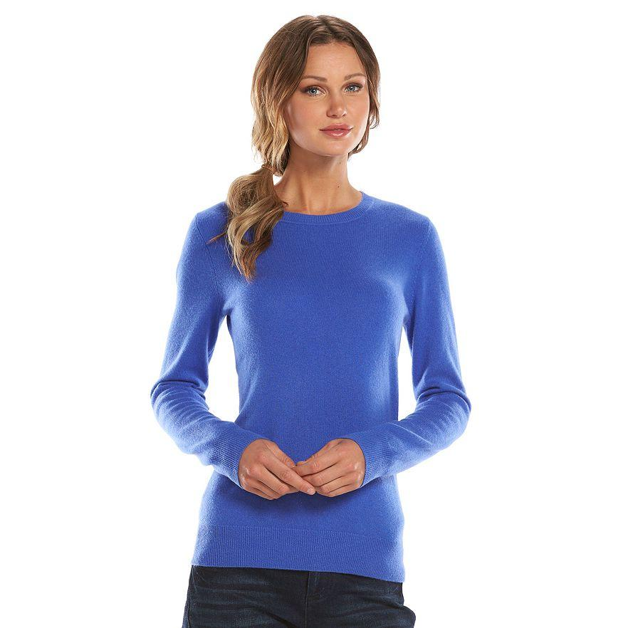 From $29.99 Cashmere Sweaters on Sale @ Kohl's