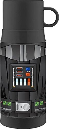 Thermos Funtainer 12 Ounce Warm Beverage Bottle, Darth Vader