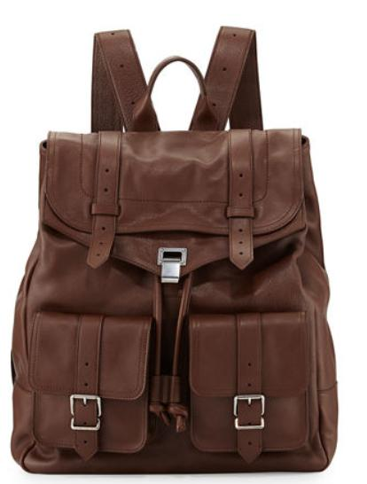 Proenza Schouler  PS1 Extra-Large Leather Backpack @ Neiman Marcus