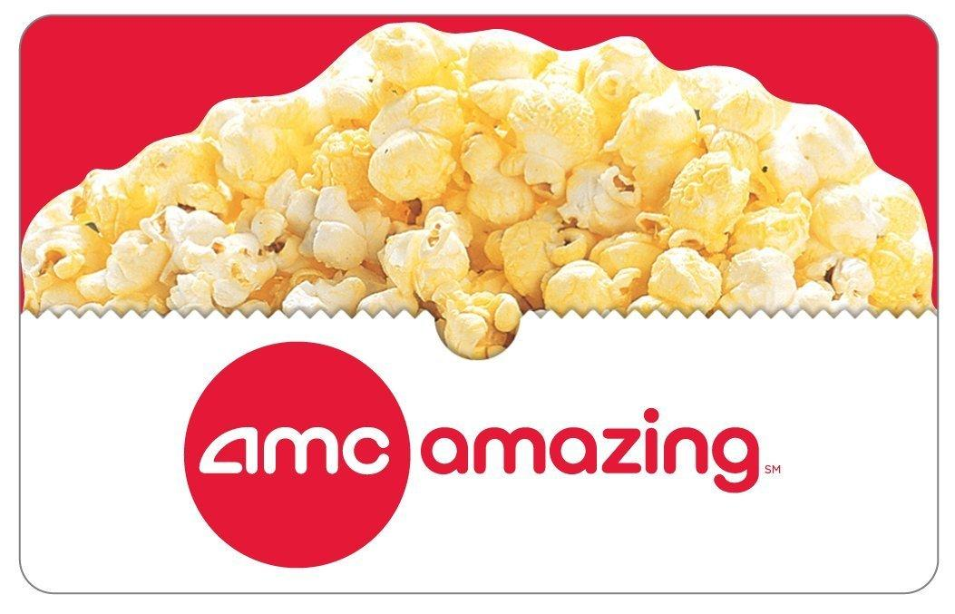 AMC Theatres Gift Cards - E-mail Delivery