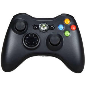 Microsoft Xbox 360 Wireless Controller, Black (Xbox 360)