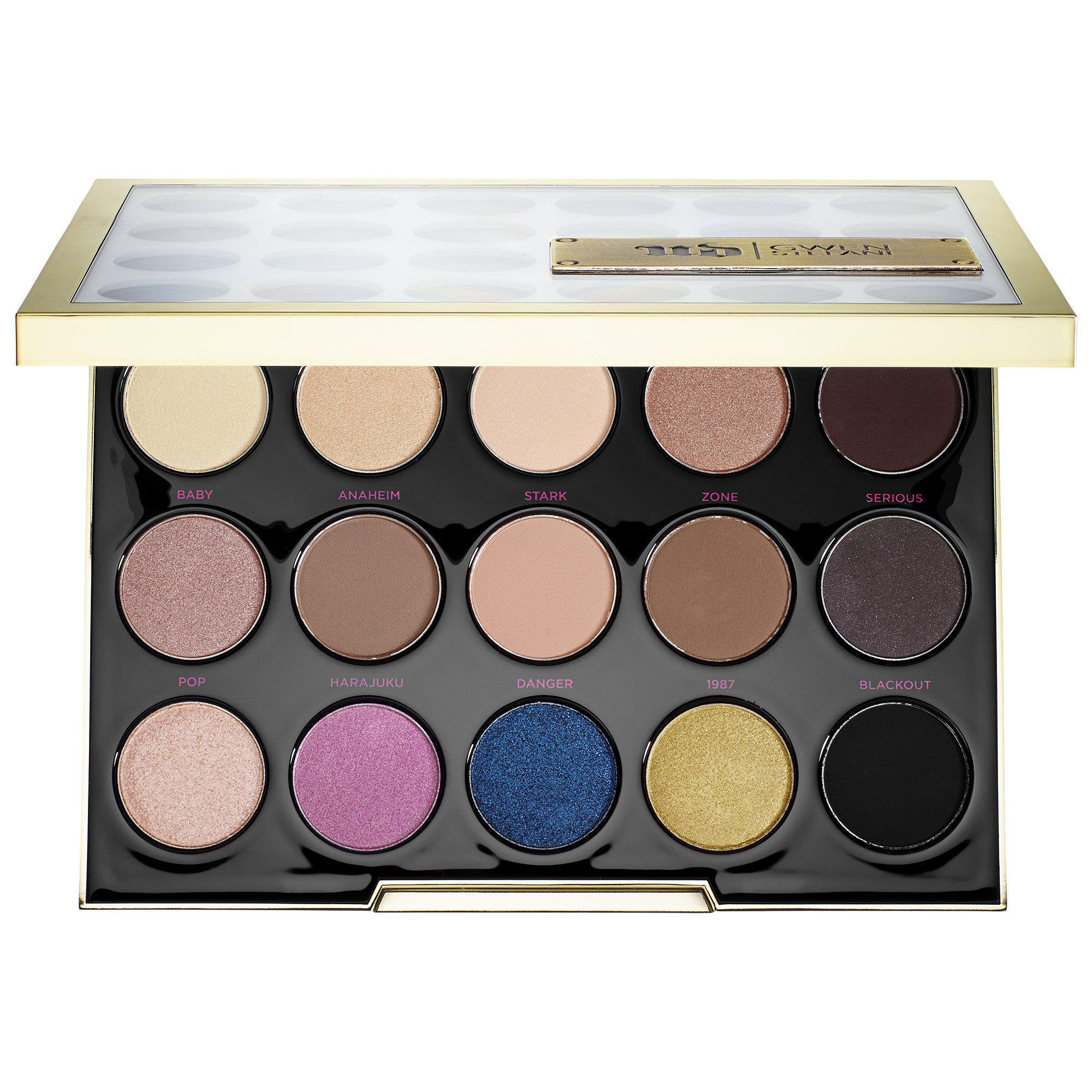 New Release Urban Decay launched New UD Gwen Stefani Eyeshadow Palette