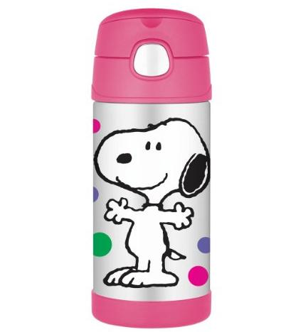Thermos 12 Ounce Funtainer Bottle, Peanuts