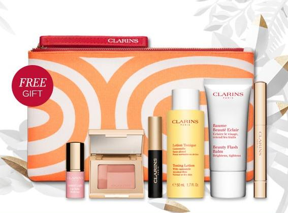 Free 12-pc Gift with $95 Purchase @ Clarins