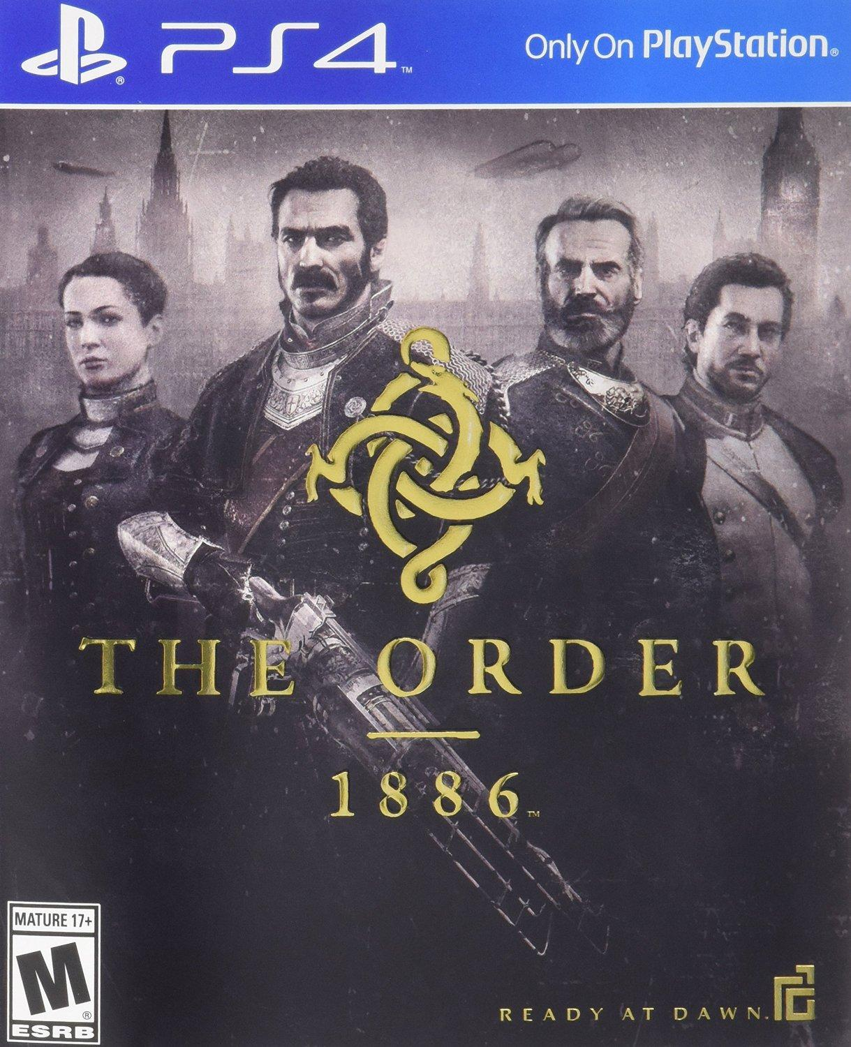 $10 The Order: 1886 - PS4 [Digital Code]