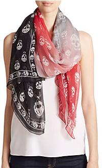 30% Off Alexander McQueen Scarf @ Saks Fifth Avenue