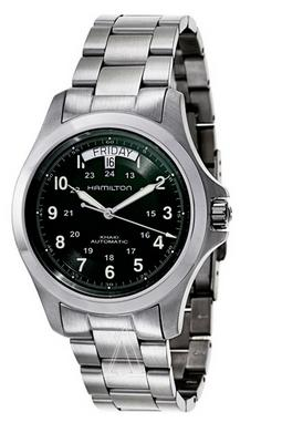 Hamilton Men's Khaki Field King Automatic Watch H64455163(Dealmoon Exclusive)
