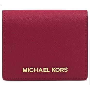 MICHAEL Michael Kors Jet Set Travel Flap Card Holder @ macys.com