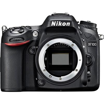 $529.95 Nikon D7100 DX-Format Digital SLR Camera (Body Only)