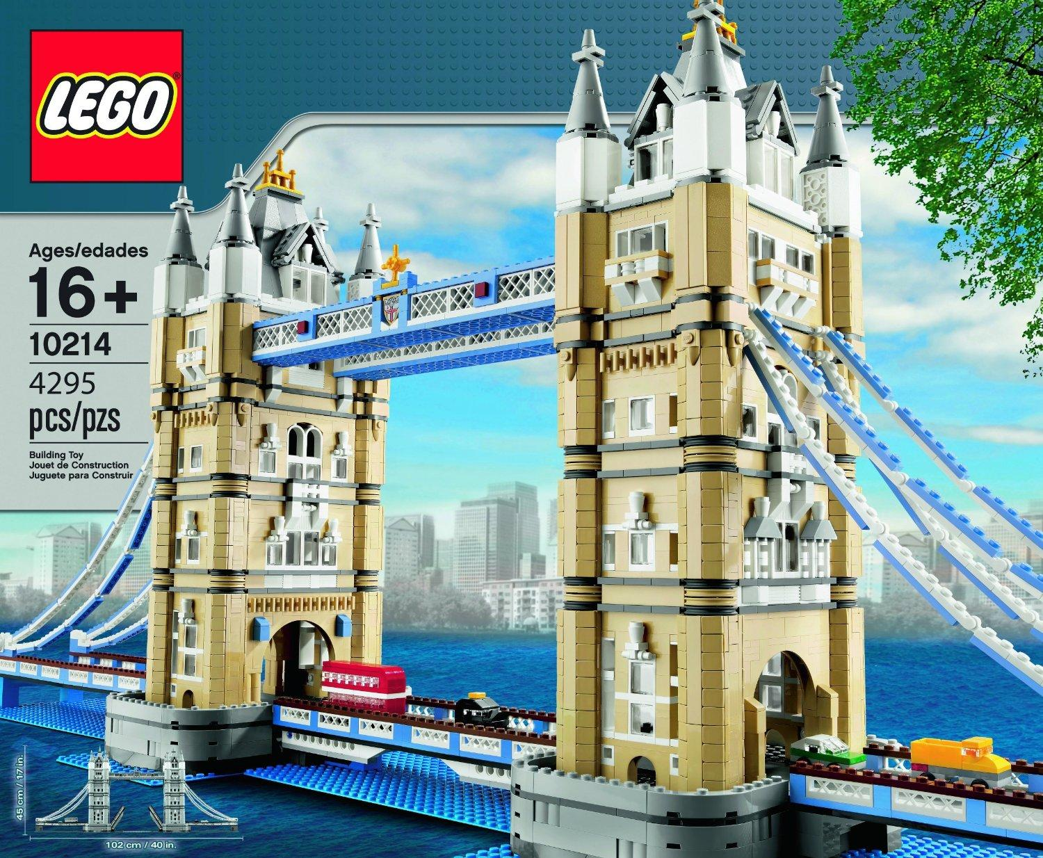 $239.95 LEGO Tower Bridge 10214