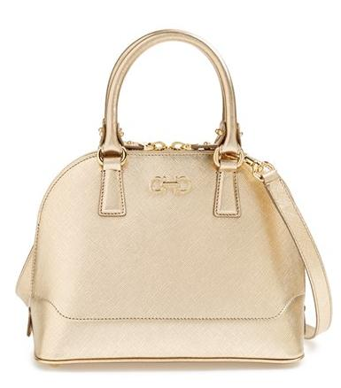 Salvatore Ferragamo 'Mini Darina' Dome Satchel
