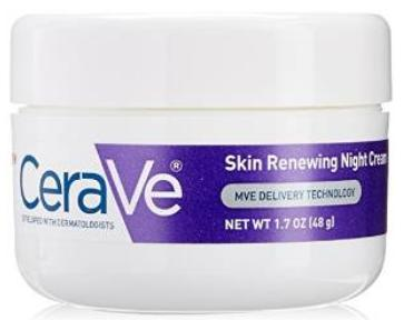 CeraVe Renewing System, Skin Renewing Night Cream, 1.7 Ounce