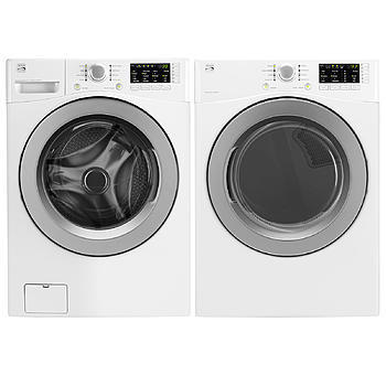 Kenmore 4.3 cu. ft. Front-Load Washer and 7.3 cu. ft. Dryer w/ Sensor Dry