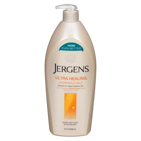 $9.01+Free $5 Gift Card 2 Jergens Ultra Healing Lotions 32 oz. @ Target