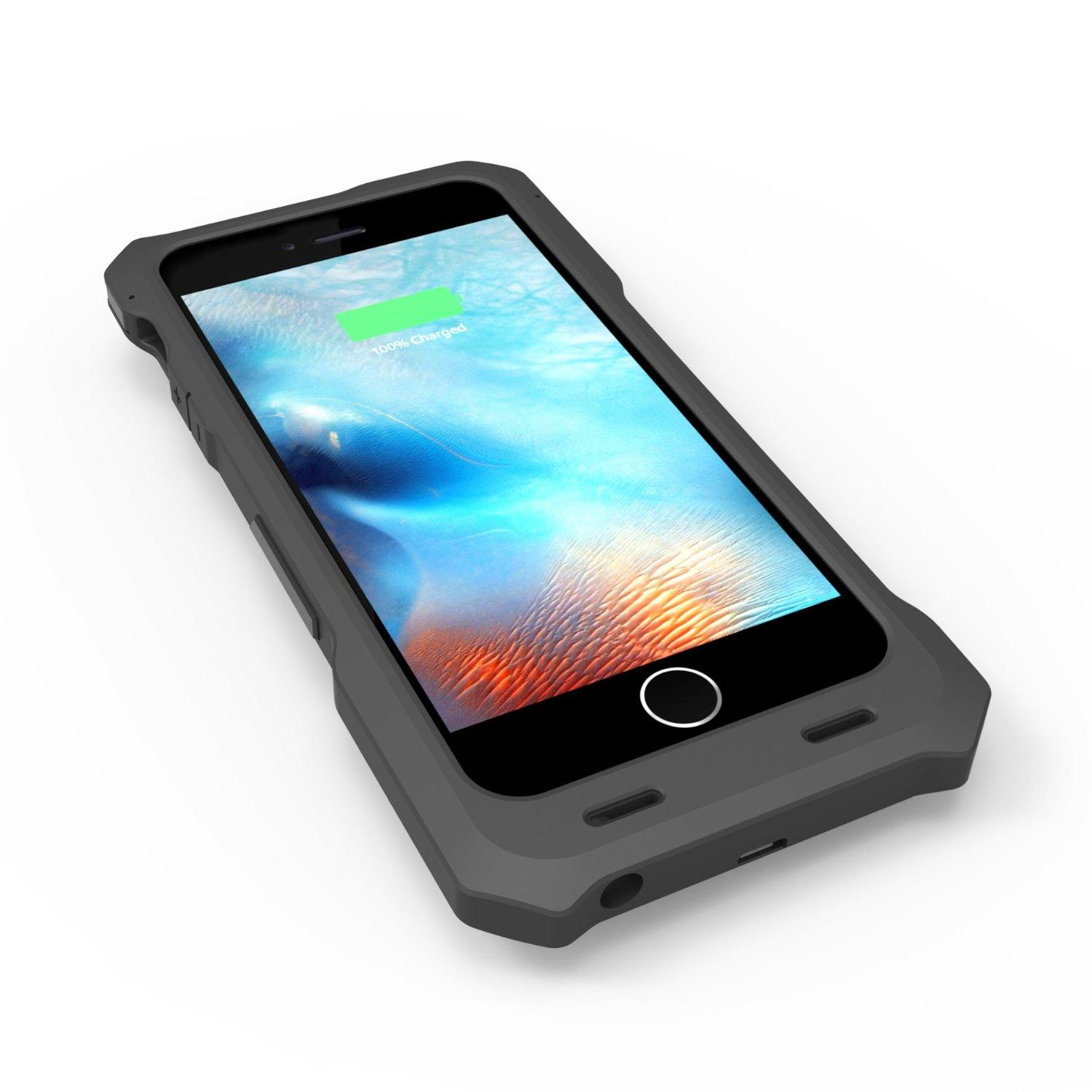 iPhone 6/6s Battery Case, ZeroLemon ZeroShock External Protective 3500mAh Capacity for iPhone 6/6s 4.7″