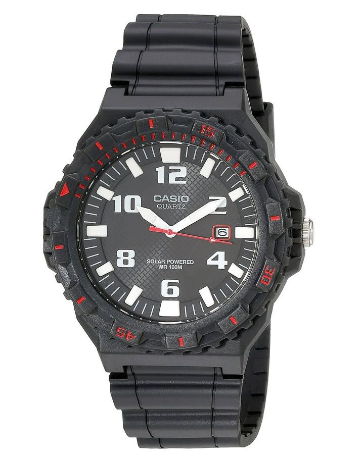 Casio Men's MRW-S300H-8BVCF Solar Powered Analog Sport Watch
