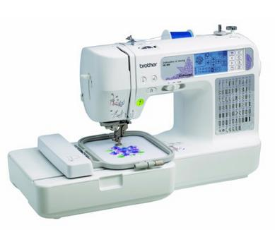 $224.98 Brother SE400 Combination Computerized Sewing and 4x4 Embroidery Machine
