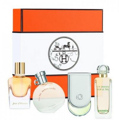Hermes Miniature Fragrance Coffret, 4 Count