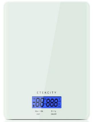 $11.99 Etekcity 13lb/6kg Digital Kitchen Food Scale