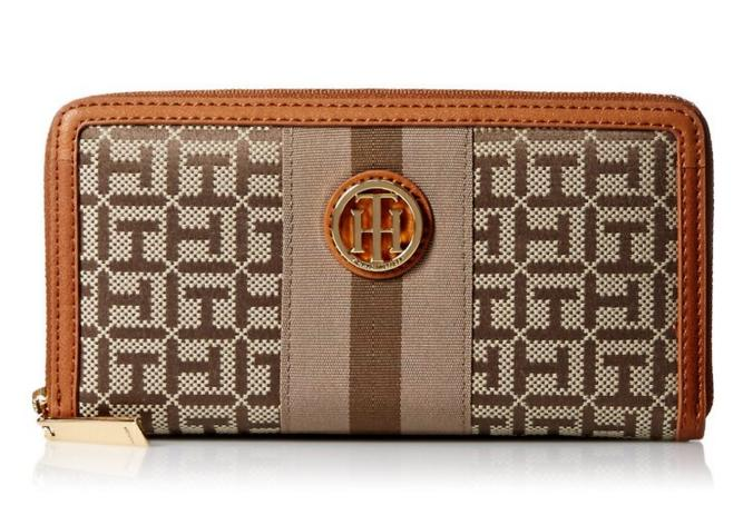 Tommy Hilfiger Signature Jacq Zip Wallet