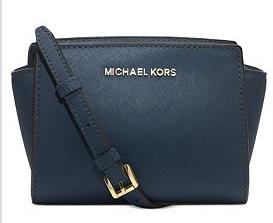 MICHAEL Michael Kors Selma Mini Messenger Bag @ macys.com