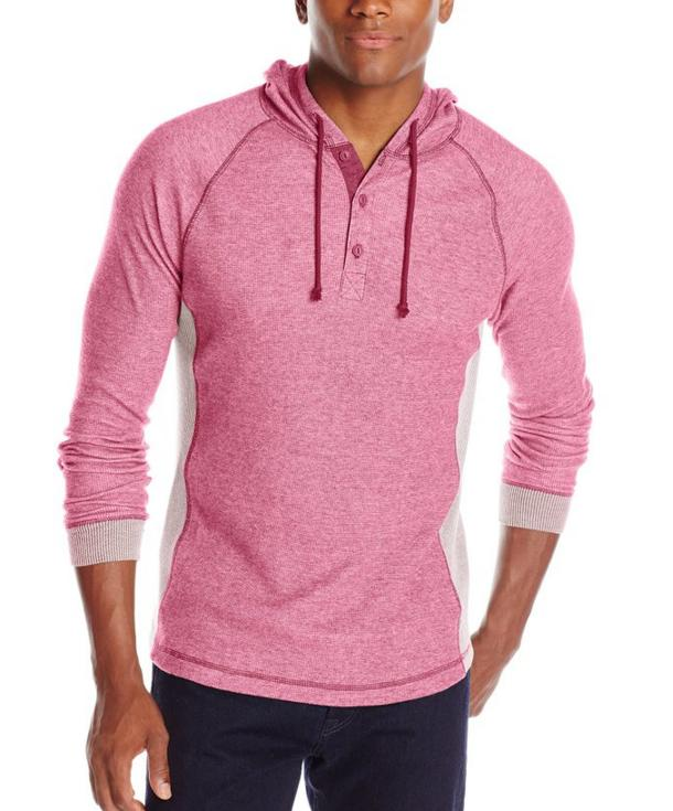 Levi's Men's Arias Super Soft Rib Henley Hoodie