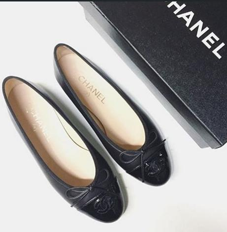 $600 CHANEL Quilted Ballet Flat On Sale @ MYHABIT