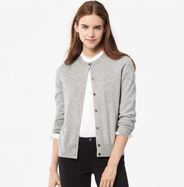 Up to $30 off Cashmere Sale @ Uniqlo