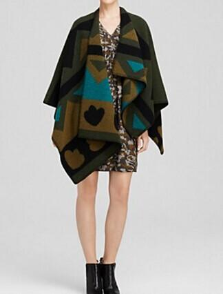 Burberry Brit Geometric Print Wrap @ Bloomingdales