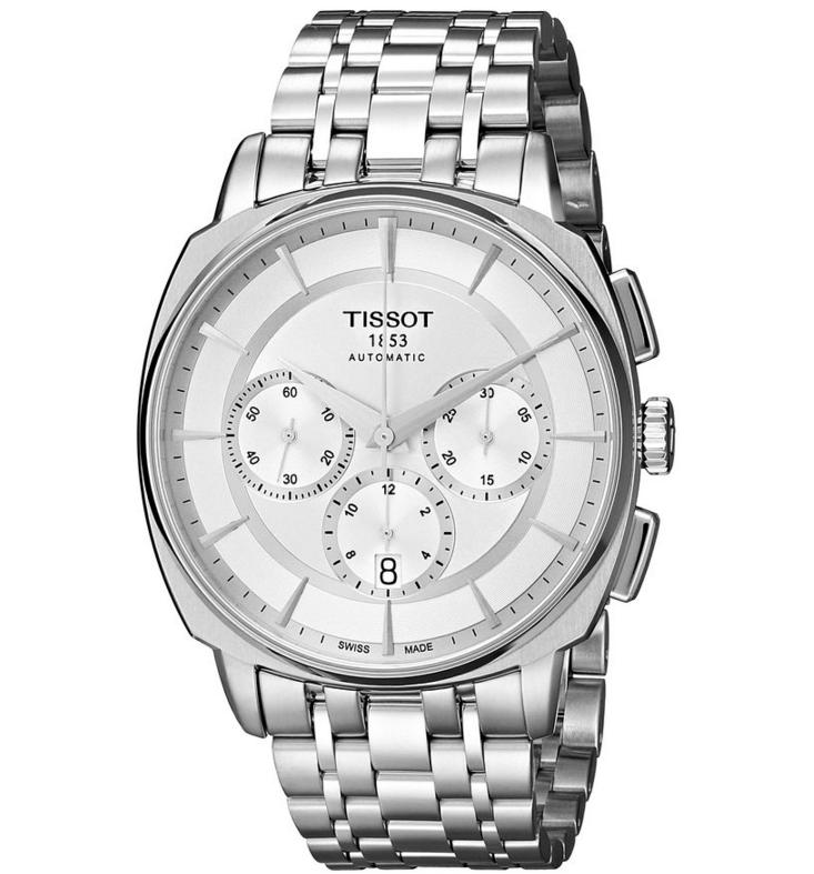 Lowest price! Tissot Men's T0595271103100 T Lord Analog Display Swiss Automatic Silver Watch