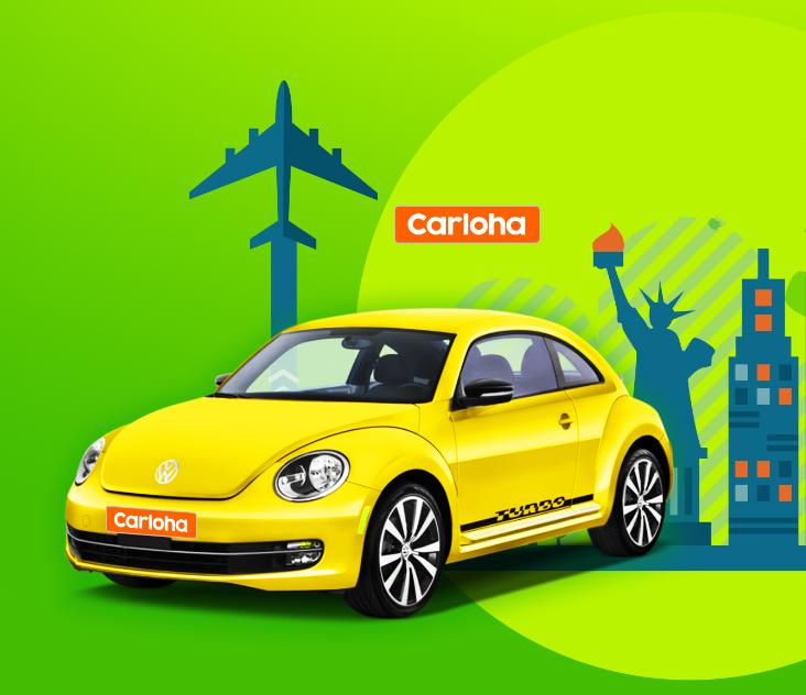 Free airline tickets to New York from anywhere! Enjoy your car-buying trip on Carloha.com!