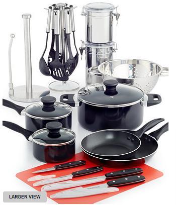 Tools of the Trade 24-Pc. Cookware Set, Only at Macy's