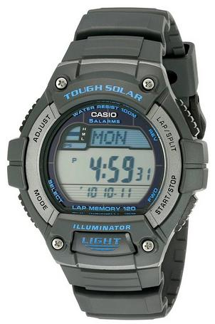 $17.49 Casio Men's W-S220-8AVCF Grey Watch