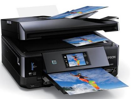 $99.99 Epson XP-830 Wireless Color Photo Printer with Scanner, Copier & Fax (C11CE78201)