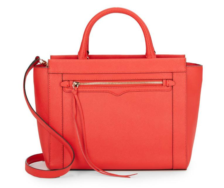Rebecca Minkoff Small Monroe Leather Tote Bag