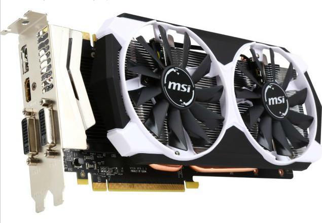 MSI GeForce GTX 970 OC 4GB GDDR5 Video Card + Game