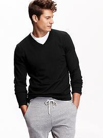 Only $10 Men's Solid Sweaters @ Old Navy