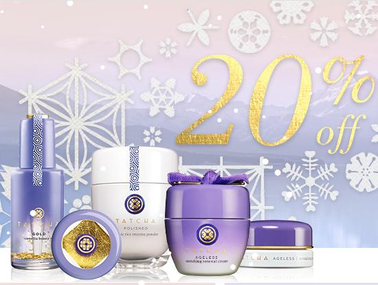 20% OFF+Free Shipping Gold Series  @ Tatcha