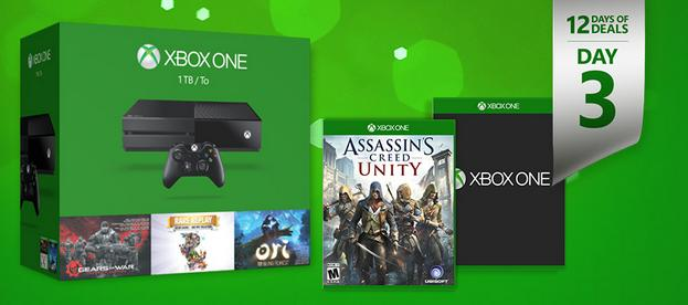 Get 2 Free Games with Select Xbox One Consoles